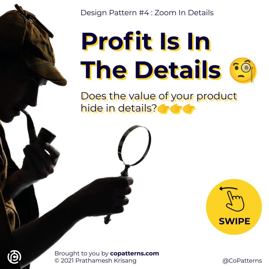 Profit Is In The Details 🧐  Does the value of your product hide in details?👉👉👉