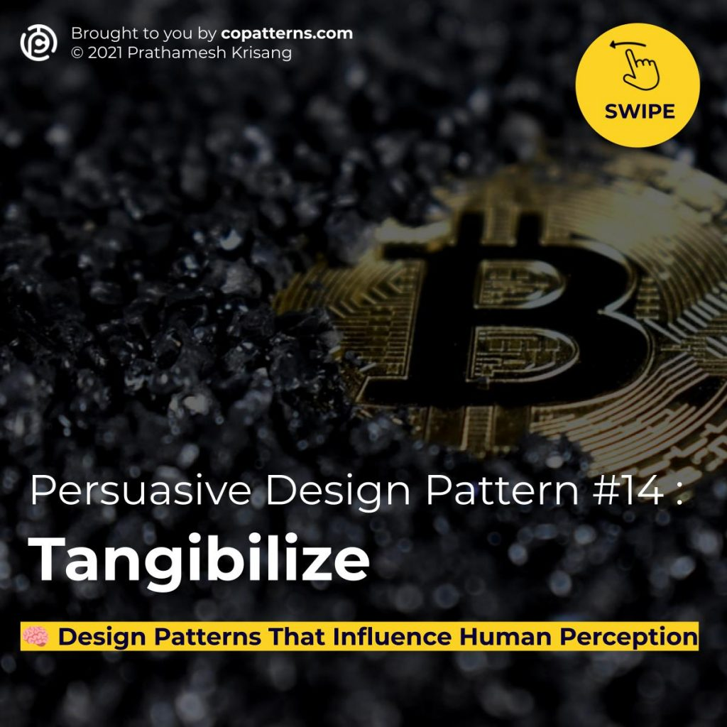 Persuasive Design Pattern #14 :  Tangibilize  🧠 Design Patterns For Ads & Landing Pages  That Influence Human Perception